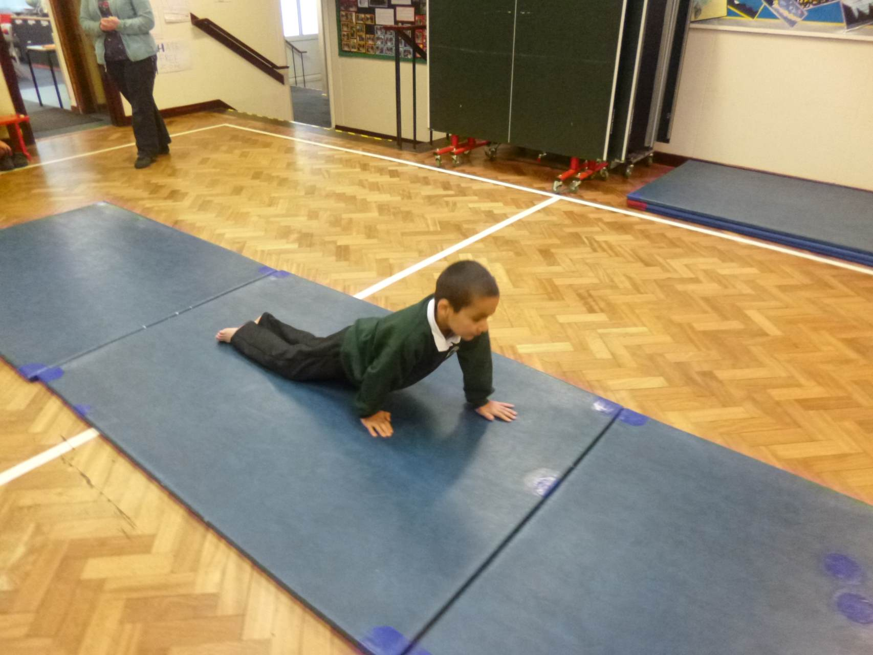 Using physical skills to develop